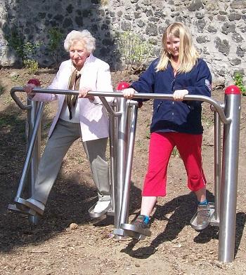 Outdoor Fitness Ger 228 Te Mehr Bewegung Mehr Vitalit 228 T