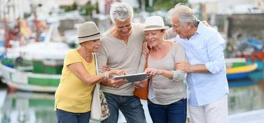 Friseur-und Senioren-Dating-Geschichten