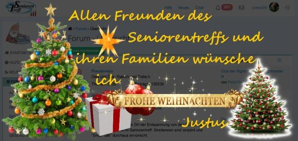weihnachtsgr e an die freunde forum im seniorentreff. Black Bedroom Furniture Sets. Home Design Ideas