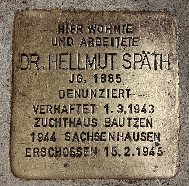 800px-Stolperstein_Späthstr_80-81_(Baums)_Hellmut_Späth.jpg