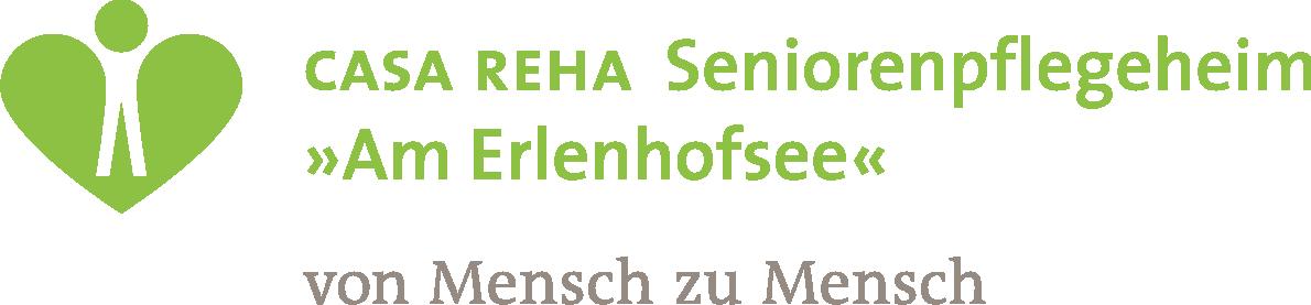 Logo von CASA REHA Seniorenpflegeheim »Am Erlenhofsee«